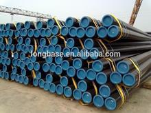 ASTM A53 Gr.B plain end seamless steel pipe manufacturer