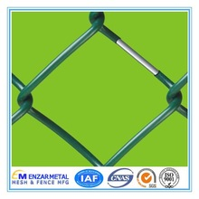 China Alibaba Vinyl Coated Chain Link Fence Woven Wire Mesh Fence Galvanized Chain Link Fabric