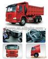 Camion à benne basculante HOWO Sinotruck Chine 6X4 vehicule camion benne direction main gauche