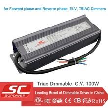 KV-48100-TD 48V triac driver dimmable LED Power Supply 100W IP66 for Strip Light