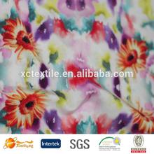 compression wear stretch fabric digital printing knitted swimwear fabric