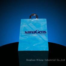 Plastic Bag OEM Custom Printed Die Cut Plastic carrier