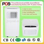 POSI A007A 8500BTU R410A portable air conditioner remote control