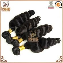 2015 cheap 100% virgin Brazilian hair alibaba express loose deep wave weave hairstyles