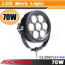 New Car Tuning Light 70W Led Work Light super bright led work light