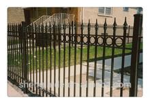 Prefab fence panels steel garden fence Guardrail Baluster Picket Fence