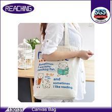 OEM/ODM Factory Eco Oem Printed Fashion Canvas Nylon Shopping Bag