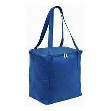 green color cooler bag