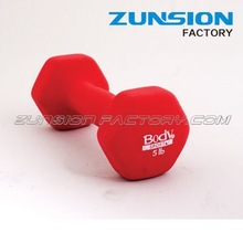 MADE IN CHINA rubber coated dumbbell With Good Quality In sale Now