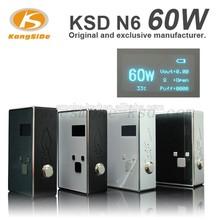 Latest innovative products electronic cigarette CPU temperature control VW 60watt e cig box mod