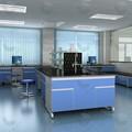 Meubles chinois résistant aux produits chimiques résine époxy/céramiques/acier inoxydable/compacte./trespa/laboratoire comptoir en verre trempé