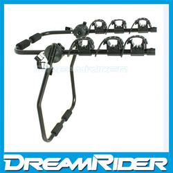 bike hitch rack carrier steel 3 bikes rear trunk holder bicycle car rack