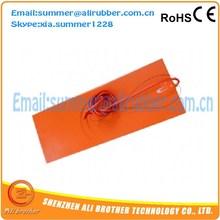 20cm X 20cm 200W 12V Silicone Heater Pad 3D Printer HeatBed 3M PSA & 4mm Hole