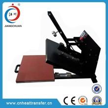 Logo auto open manual hand heat press machine