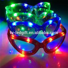 plastic led light toy led party decoration glasses light toy glasses