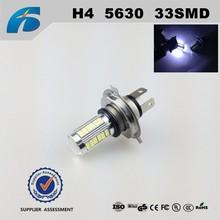 Car led lighting fog lights H4 5630 33SMD 9v~30v Auto led bulb Made in China