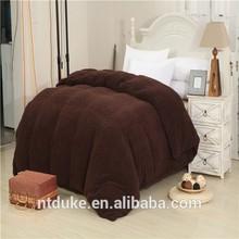 100% Polyester Microfiber Duvet Cover/ Bed Sheet/Blanket