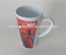 430ml Melamine beer cup & plastic mug 8*14cm