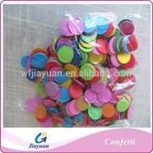 Hot sale round shaped paper confetti