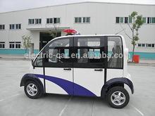 4 seats electric security patrol mini car
