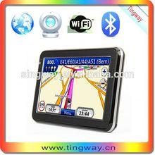5inch gps navigator av out/ car gps thai system