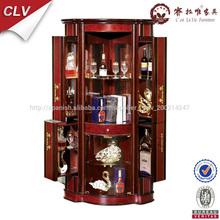 Kitchen cabinet corner designs, corner glass display cabinet