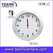 Mlti-function wifi Clock Camera.HD Digital wifi IP Hidden Camera Clock.Clock wifi Radio Hidden Camera IP406W