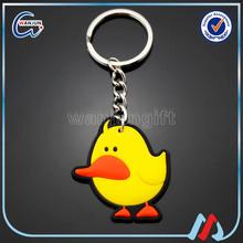 Custom Design Rubber Keychain