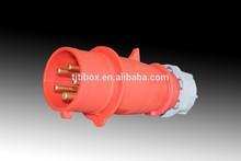 TIBOX 2014 CEE/IEC IP44 3P+N+E(5P) Electric Waterproof Industrial Plug
