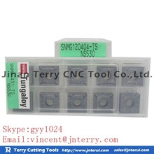 cnc turning tool inserts, tungsten carbide inserts cnc tool TUNGALOY SNMG120404-TS NS530