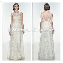 Elegant White Sheath Lace Appliqued V-Back Bespoke Brides Gowns Wedding Dresses WDZ069 Online Shopping For Clothing