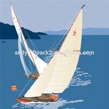 hot selling !!! grateful sailing embossed disposable paper napkin