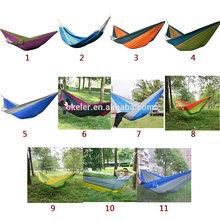 2015 New Design 2 Person Folding Garden Hanging Parachute Portable Outdoor Camping Hammock