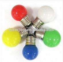LED Christmas decorations, christmas light, globe bulb 0.5w G40 E27 LED color light bulbs made in China