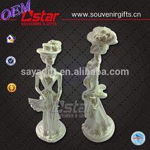 2014 Hot sale white porcelain bird figurine customizable