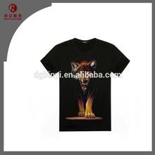 Top Sale 2015 Cheap Black Printed T-Shirt Man