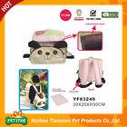 Side Pocket Top Open Animal Head Design Breathable Backpacks Dog Carrier