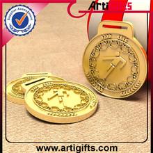 Offer free samples short distance running medal