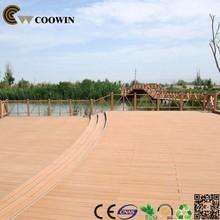 Wood plastic outdoor basketball court flooring