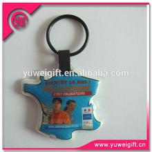 Fashionable promotional gifts mini led lamp keychain