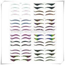Modern unique colorful eyeliner sticker maker