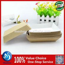 Disposable paper hot dog tray salad tray