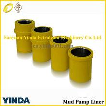 high quality National 7-P-50 mud pump cylinder liner, oil pump liner,mud pump parts