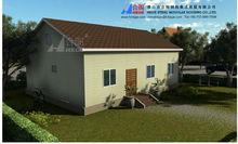 luxury prefab villa , insulation light steel prefabricada casa