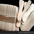 picolé vara ofícios de madeira gelo colher de creme de artesanato