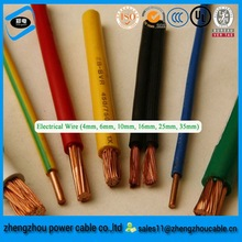 450/750V Electric Wires ,PVC Insulated PVC Sheath Copper Building Flexible Electrical Wires