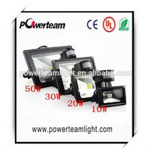 Led Flood Outdoor Floodlight 10W 20W 30W 50W 100W PIR LED Flood light with motion sensor Spotlight RGB waterproof AC85-265V