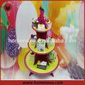venta al por mayor de la decoración de la torta de pie simple decoración de tortas