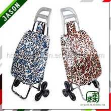 hand trolley cart new design metal folding shopping cart