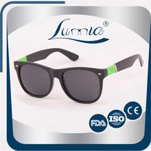 Interchangeable temple uv400 lens unique 100% nature polarized eyewear sunglasses